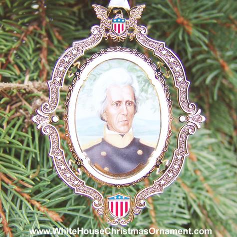 Ornaments - Mount Vernon American Presidents - Andrew Jackson