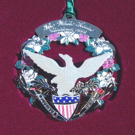 Ornaments - White House 1998 James Buchanan Holiday