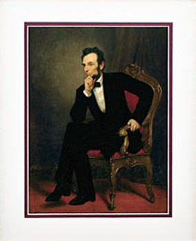 Gifts - Print - Abraham Lincoln Framed