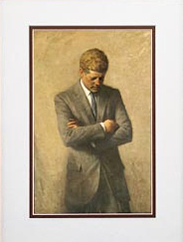 Gifts - Print - John F Kennedy Framed