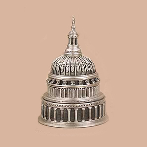 Gifts - US Capitol Pewter Dome Paperweight