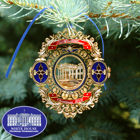 Ornaments - White House 2006 Chester A Arthur