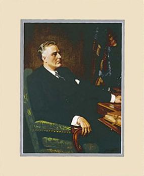 Gifts - Print - Franklin D Roosevelt Framed