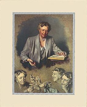 Gifts - Print - Eleanor Roosevelt Framed
