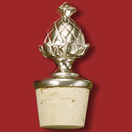 Gifts - Mount Vernon Pineapple Pewter Bottle Stopper