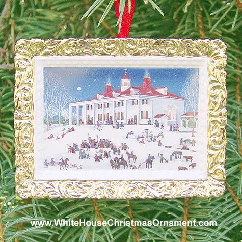 Ornaments - Mount Vernon 2000 Moonlight Caroling
