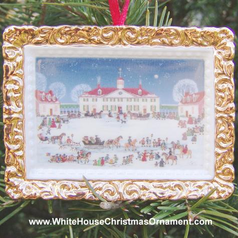 Ornaments - Mount Vernon 2000 A Joyful Group - West Front