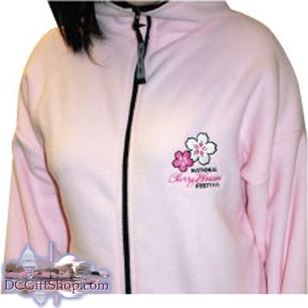 Gifts - Cherry Blossoms - Pink Festival Fleece