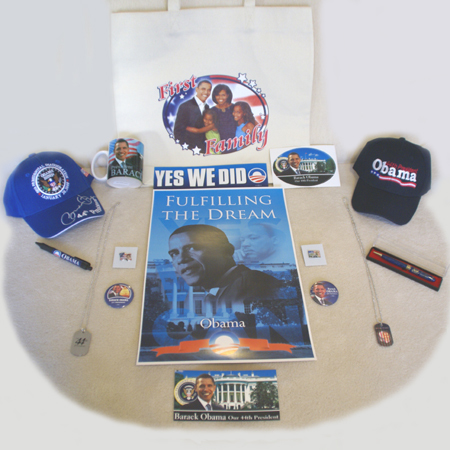 Gifts - 56th Inauguration - Obama Gift Pack