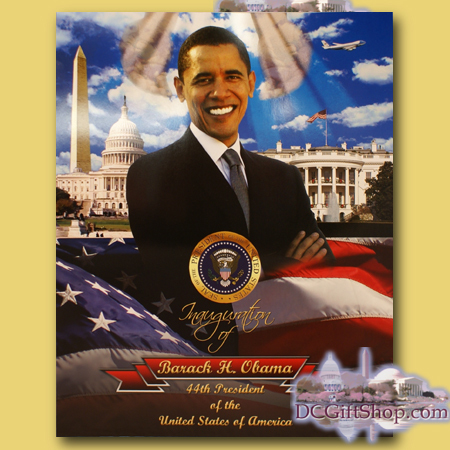 Gifts - 56th Inauguration - Poster - Obama/MLK