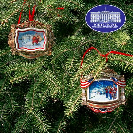 Ornaments - White House 2011 GIFT SET (2010 + 2011)
