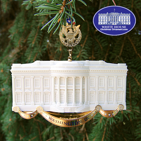 2005 Commemorative White House Ornament