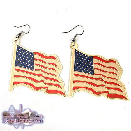 Gifts - Earrings - American Flag