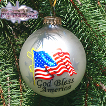 Ornaments - American Pride Christmas Ball