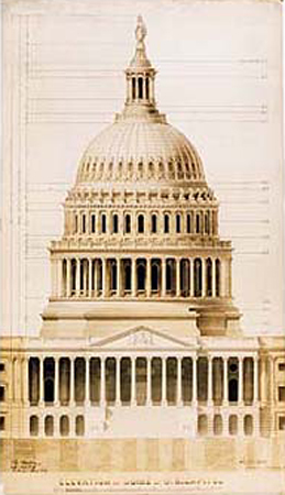Gifts - Print - US Capitol Historic Dome