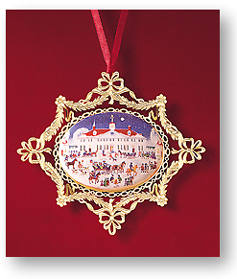 Ornaments - Mount Vernon 1995 A Joyful Group - West Front