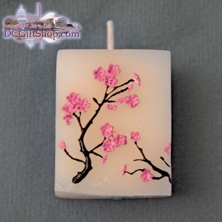 Gifts - Cherry Blossoms - Candle Set of Four