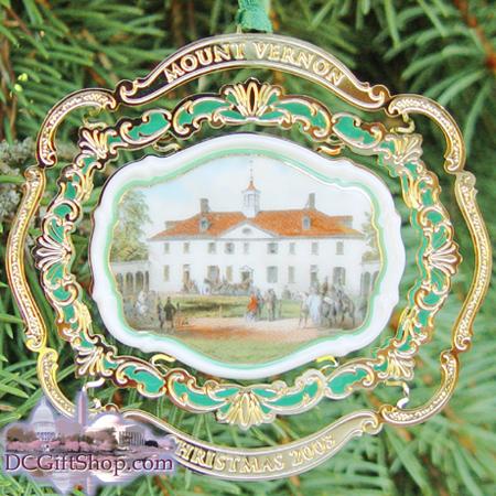 Ornaments - Mount Vernon 2003 Anniversary