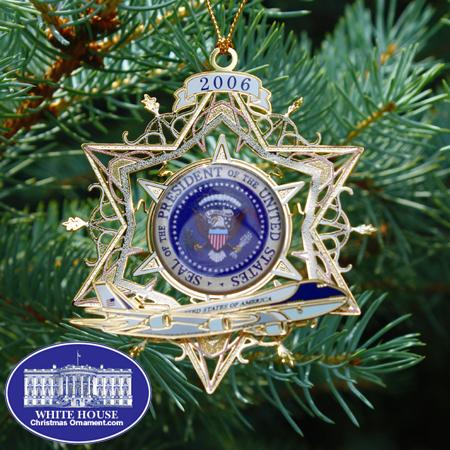 Ornaments - Secret Service 2006 Air Force One