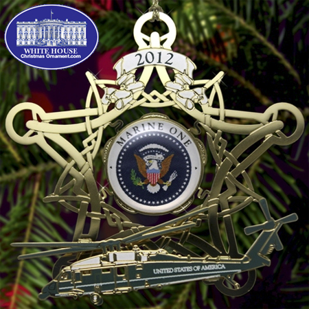 Ornaments - Secret Service 2012 Marine One