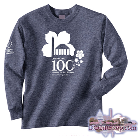 Gifts - Cherry Blossoms - 100th Anniversary Long Sleeve Shirt