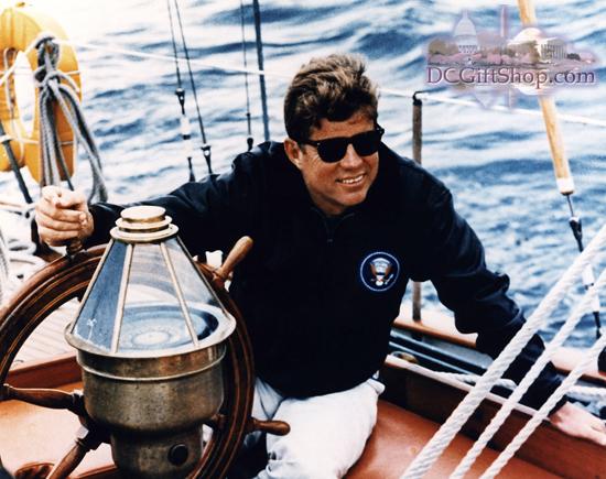 Gifts - Print - Kennedy USCG Yacht