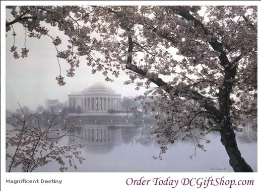 Gifts - Print - Magnificent Destiny Jefferson Memorial Gicl�e