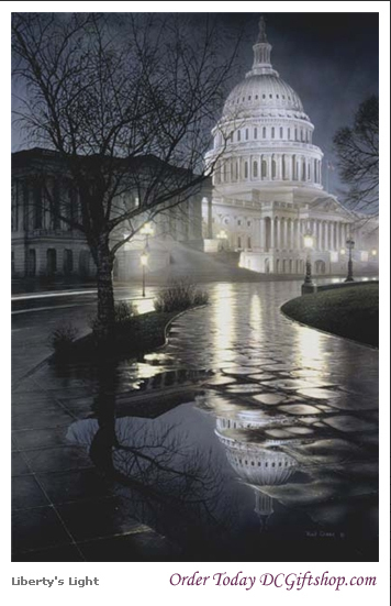 Gifts - Print - Liberty Light US Capitol Building