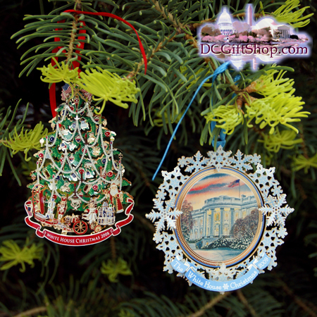 Ornaments - White House - 2009 Gift Set