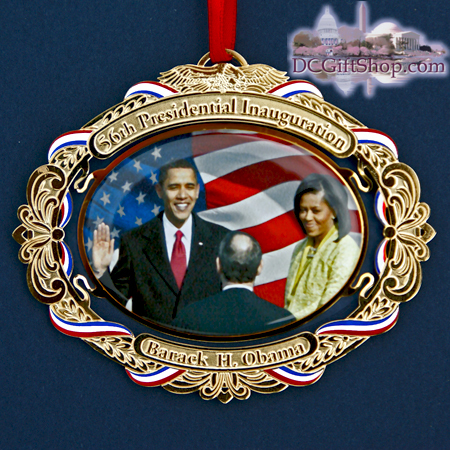 Ornaments - WDC Series - 2009 Barack Obama Inauguration