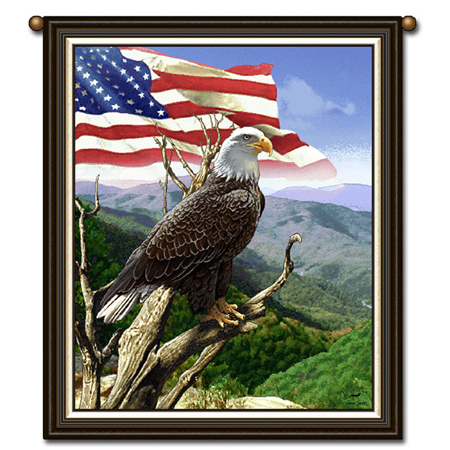 Gifts - Flags and Tapestry - American Eagle