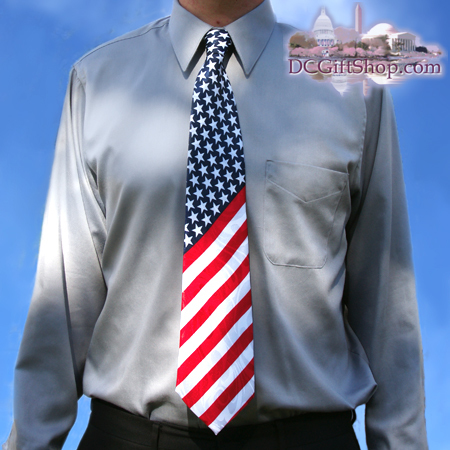 Gifts - Tie - American Flag