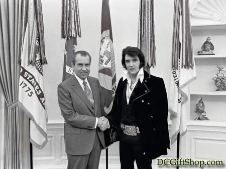 Gifts - Print - Richard Nixon and Elvis Presley