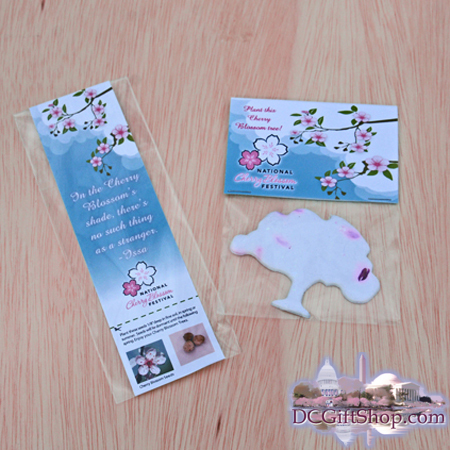 Gifts - Cherry Blossoms - Seed Tree and Bookmark
