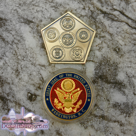 Gifts - Coins - Armed Forces and Great Seal Coin Set