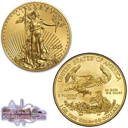 Gifts - Coins - 1oz Gold American Eagle 2012