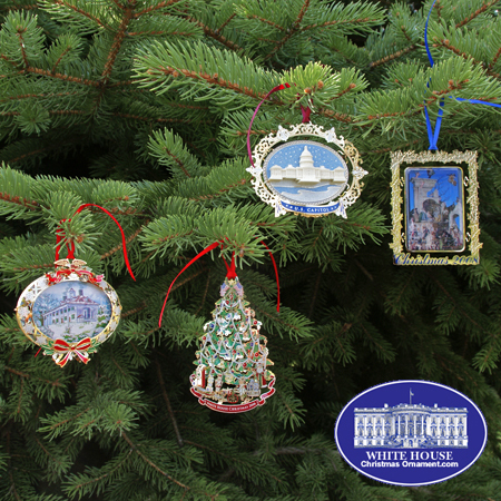 Ornaments - White House 2008 Christmas Ornament Collection