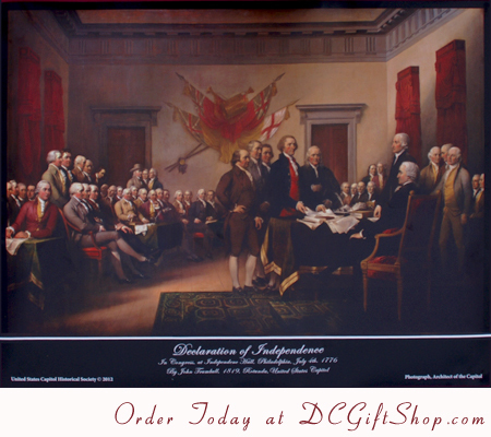 Poster - Signing of the Declaration of Independence