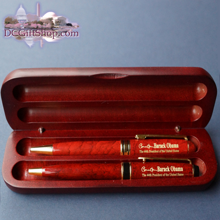 Inauguration - Commemorative 57th Inauguration Wooden Pen Set