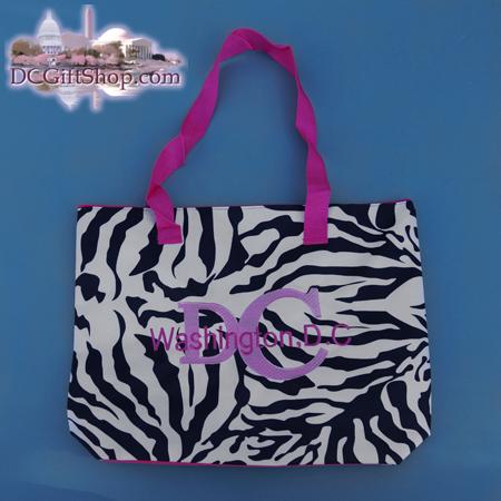 Gifts - Tote Bag - Zebra Print Washington DC