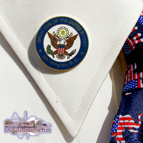 Gifts - Pin - United States Great Seal