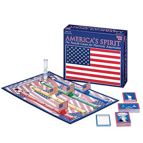 Gifts - Games - America's Spirit Board