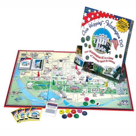 Gifts - Games - Coin Hopping Washington DC