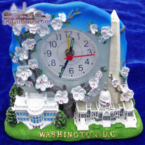 Gifts - Clock - Washington DC Quartz