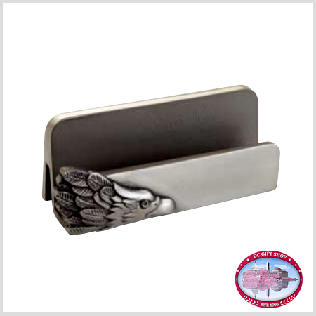 Gifts - Desk Accessories - Pewter Eagle Card Holder