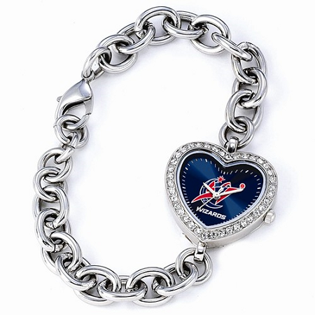 Ladies NBA Washington Wizards Heart Watch