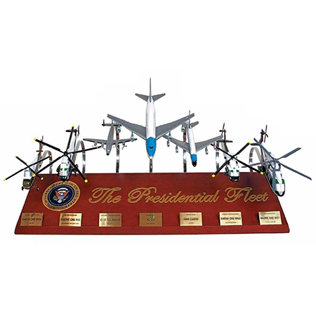 The Presidential Fleet Seven Aircraft Set 1:72