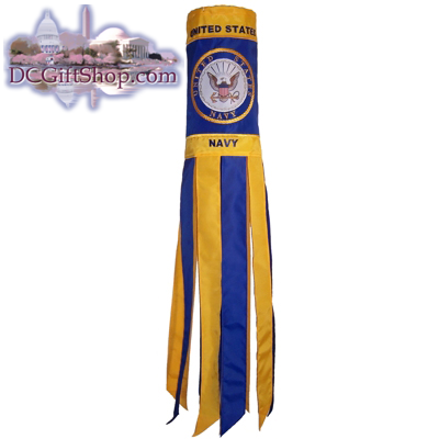 Gifts - Summer - U.S. Navy Windsock