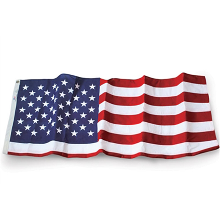 Outdoor Embroidered Polyester U.S. 3' x 5' Flag