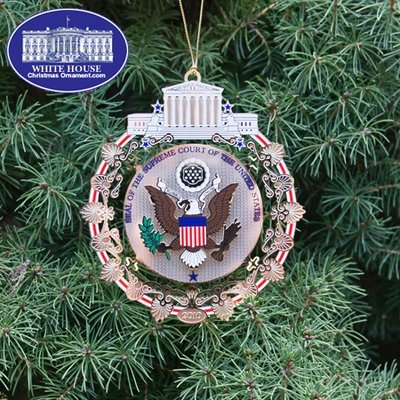 Ornaments - Supreme Court 2010 Holiday